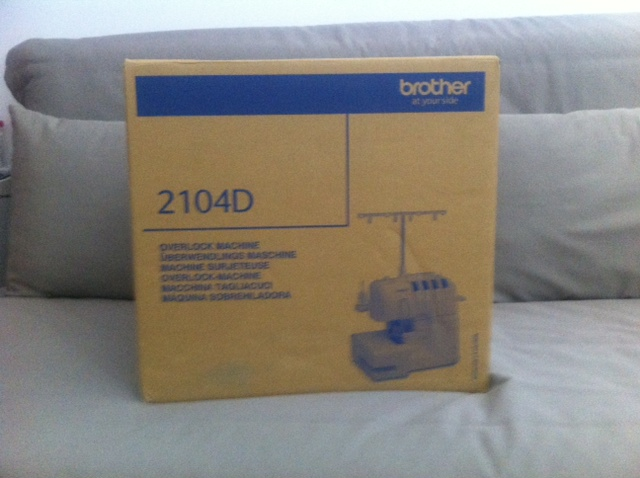 Brother 2104D Paket