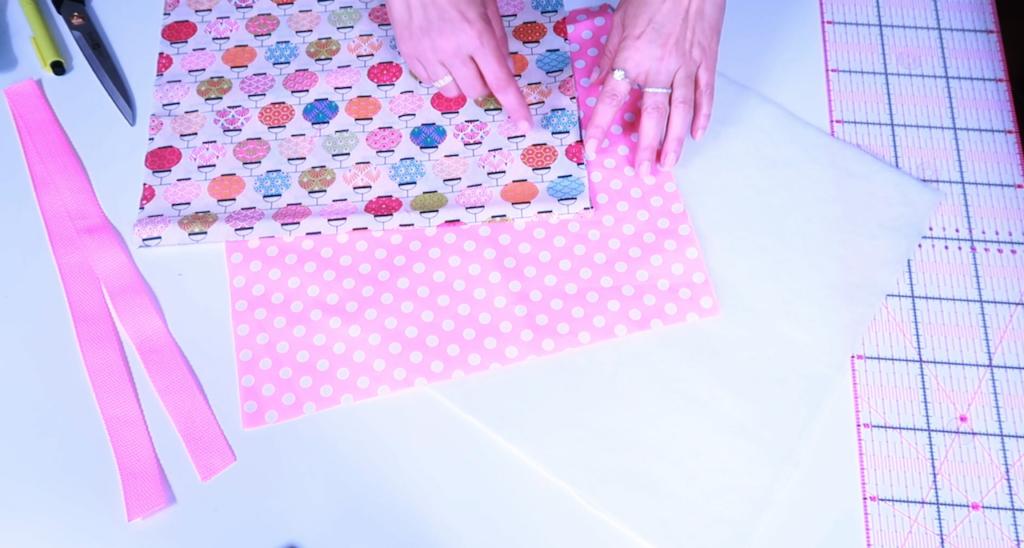 einfache Tasche zuschneiden